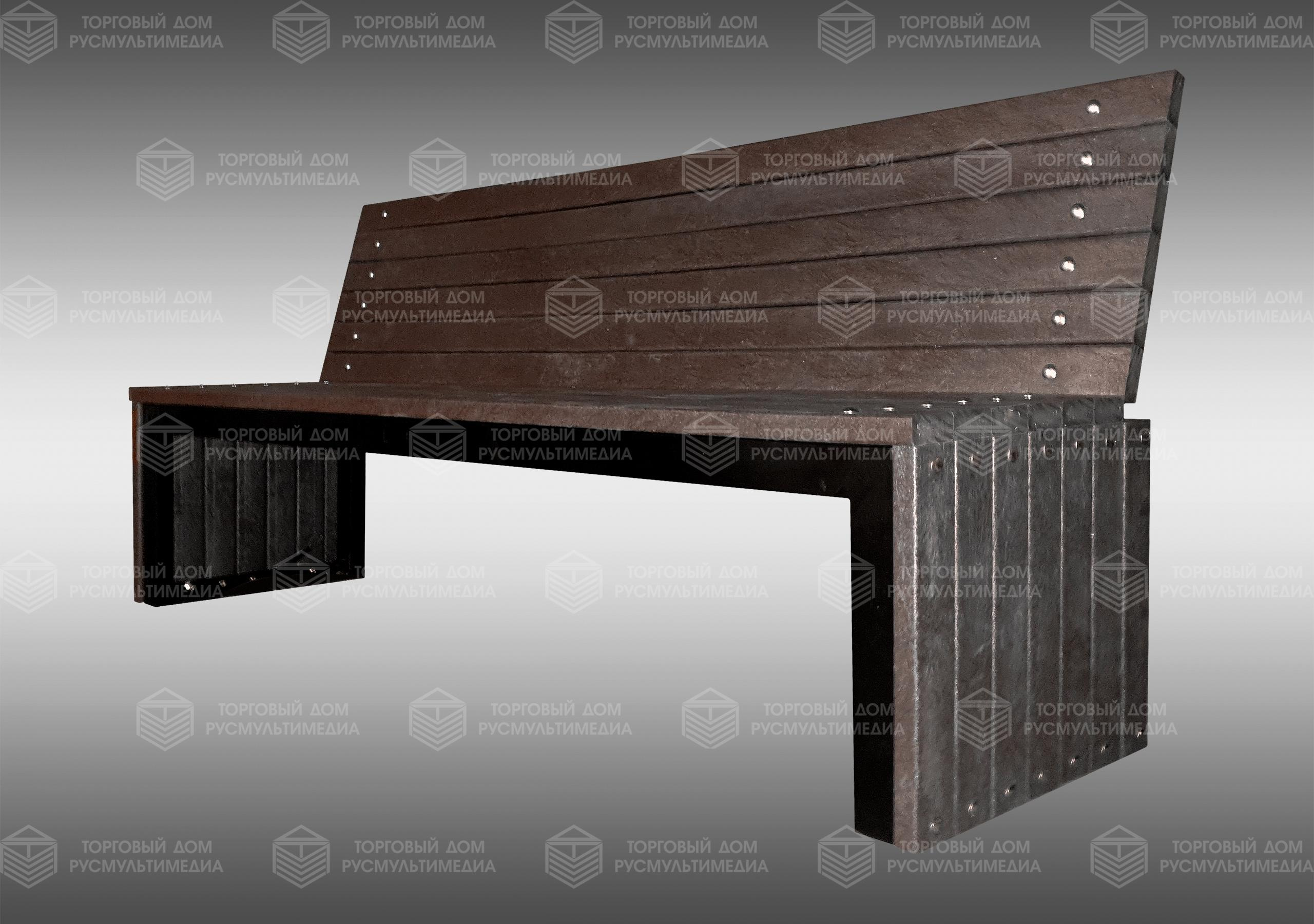 Умная скамейка - Classic со спинкой