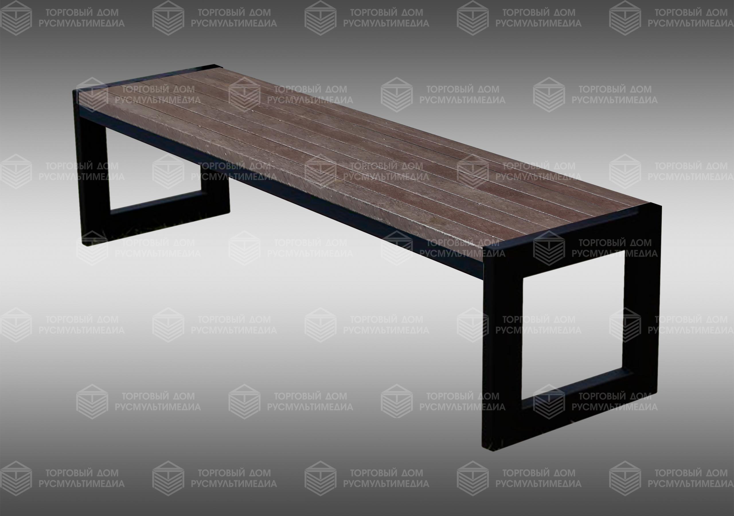 Умная скамейка - Modern без спинки