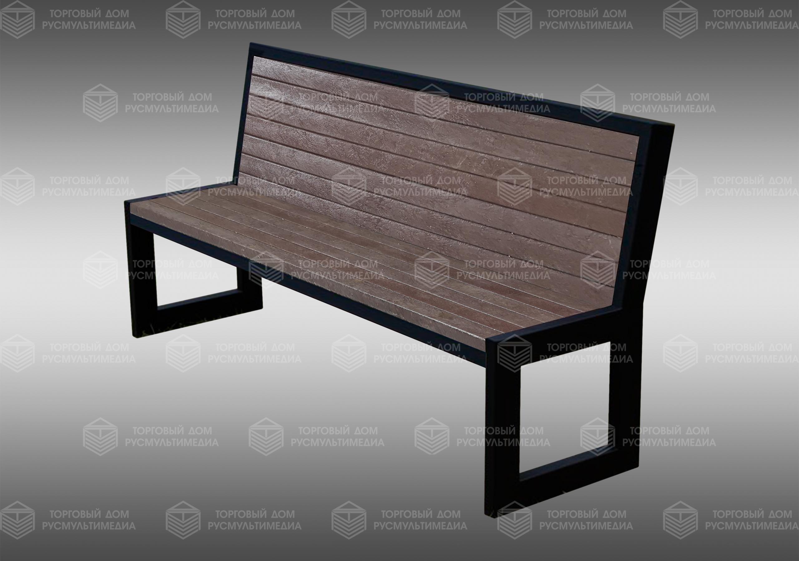 Умная скамейка - Modern со спинкой